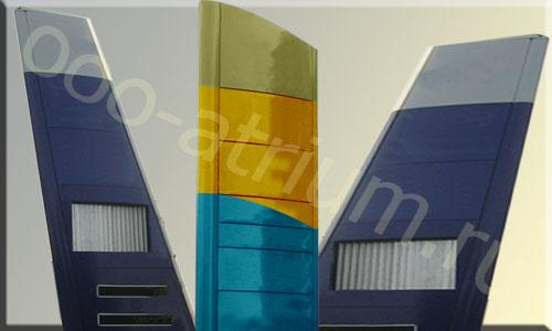 Придорожные стеллы АЗС. Выполнены из алюминия, имеют стальной каркас.