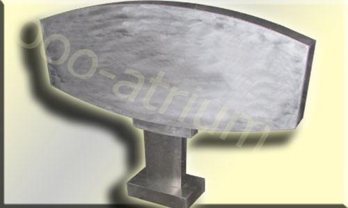 Сварная алюминиевая селла на стальном каркасе.