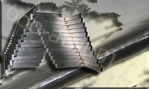 Пример сварки нержавейки в среде аргона, готовое сварное изделие из нержавеющей стали.