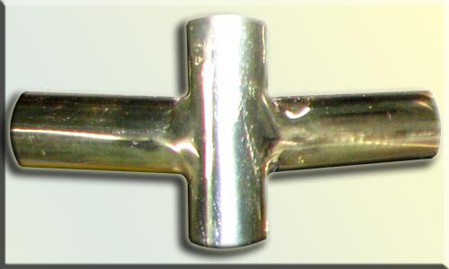Пример сварки латуни, и последующей полировки детали.