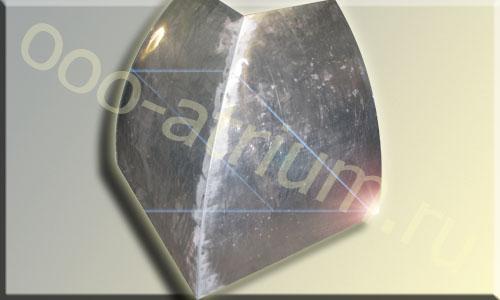 Пример вальцовки алюминия 2 мм.